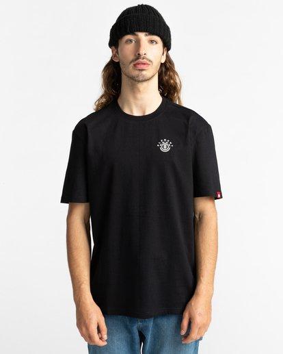 2 Ivyhill Short Sleeve T-Shirt Blue ALYZT00319 Element