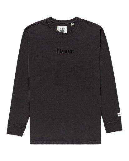 0 Shrooms Guide Long Sleeve T-Shirt Black ALYZT00322 Element
