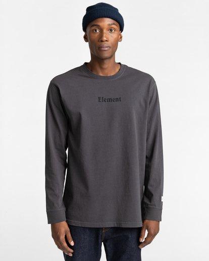 2 Shrooms Guide Long Sleeve T-Shirt Black ALYZT00322 Element