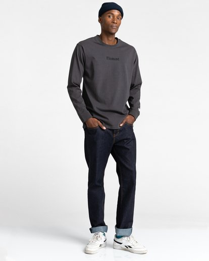 4 Shrooms Guide Long Sleeve T-Shirt Black ALYZT00322 Element