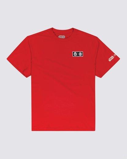 1 Star Wars™ x Element Mando T-Shirt Red ALYZT00328 Element