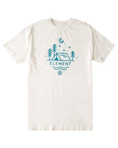 0 Oswego Pigment T-Shirt White ALYZT00348 Element