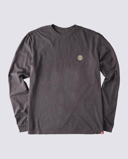 1 Peak Pigment Long Sleeve T-Shirt Blue ALYZT00355 Element