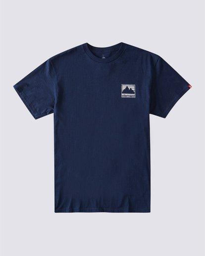 1 Joint Reverse T-Shirt Blue ALYZT00357 Element