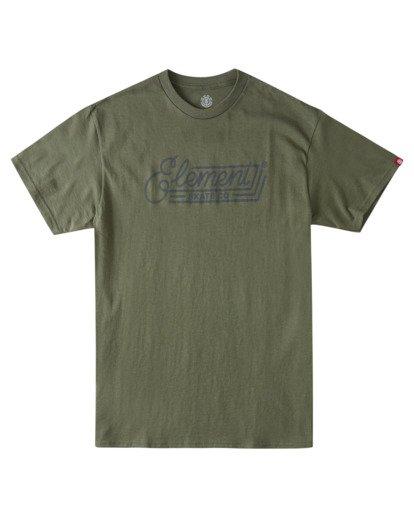 0 Wall Bank T-Shirt  ALYZT00358 Element