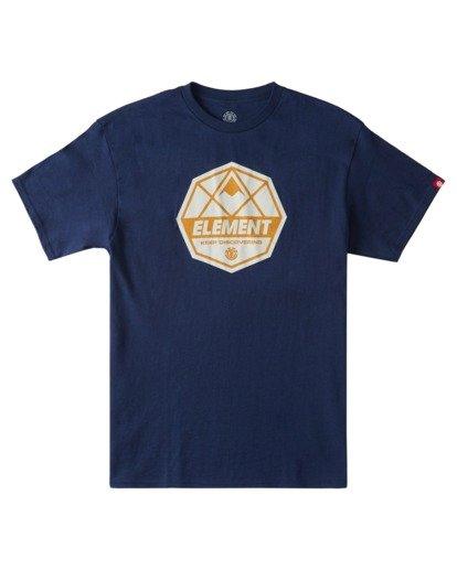 0 Whysler T-Shirt Blue ALYZT00359 Element
