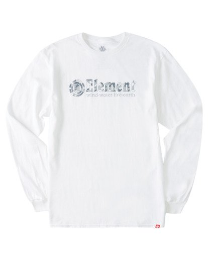 0 Scope Out Long Sleeve T-Shirt White ALYZT00366 Element
