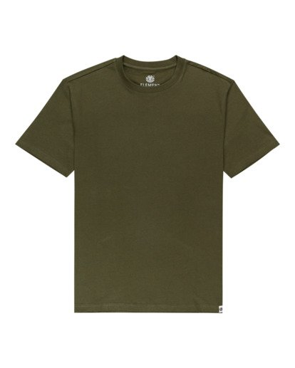 0 Basic Crew Short Sleeve T-Shirt Beige ALYZT00371 Element