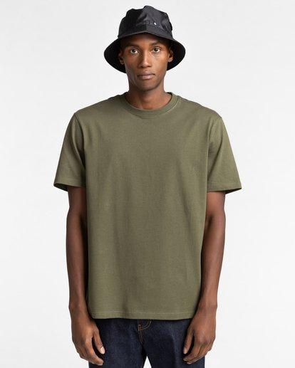 1 Basic Crew Short Sleeve T-Shirt Beige ALYZT00371 Element