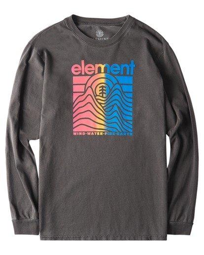 0 Sego Pigment Long Sleeve T-Shirt Blue ALYZT00384 Element