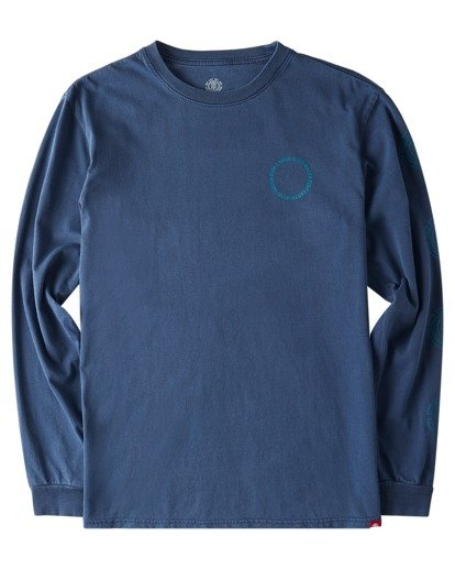 0 Exley Pigment Long Sleeve T-Shirt Blue ALYZT00386 Element