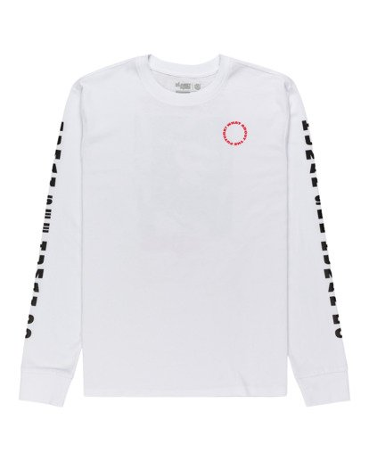0 Planet of the Apes Surge Long Sleeve T-Shirt White ALYZT00387 Element