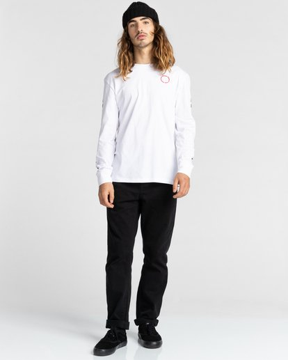 5 Planet of the Apes Surge Long Sleeve T-Shirt White ALYZT00387 Element