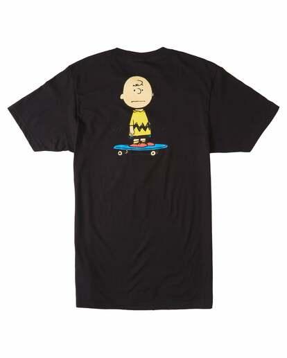 1 Peanuts Kruzer Short Sleeve T-Shirt Blue ALYZT00469 Element