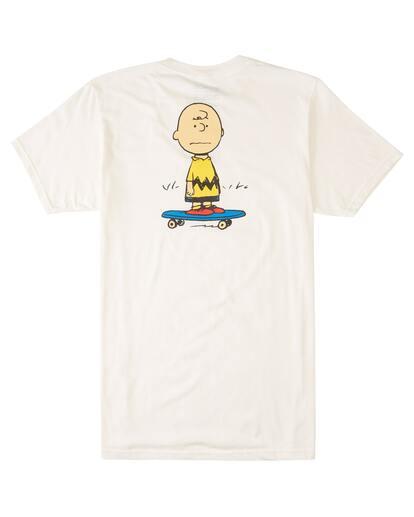 1 Peanuts Kruzer Short Sleeve T-Shirt White ALYZT00469 Element