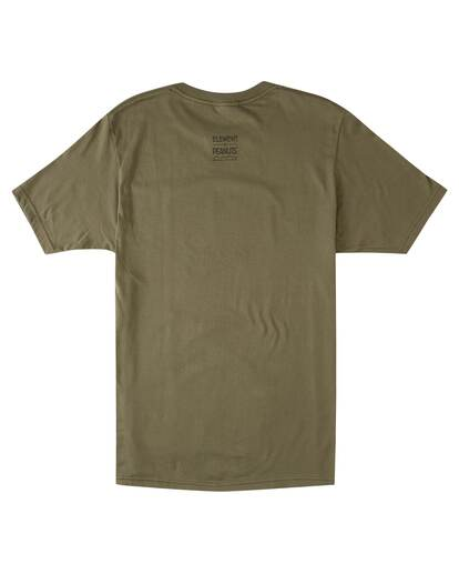 1 Peanuts Adventure Short Sleeve T-Shirt Green ALYZT00471 Element