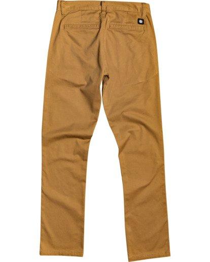 1 Boys' Howland Pant Brown B3183EHO Element