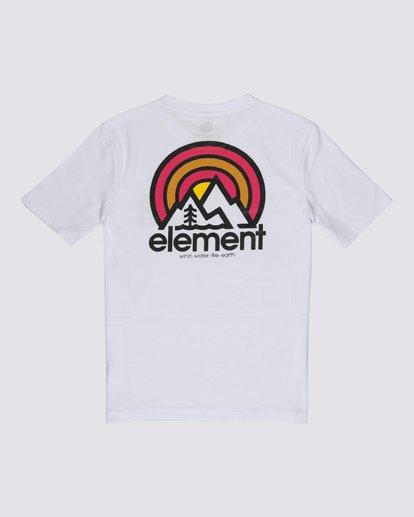 1 Boys' Sonata T-Shirt White B4012ESO Element