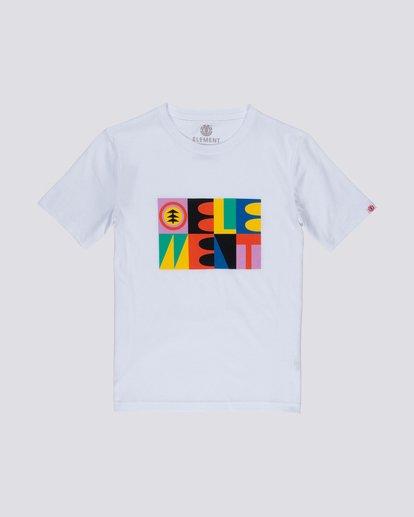 0 Glimpse Icon Boys T-Shirt  B401VEBA Element
