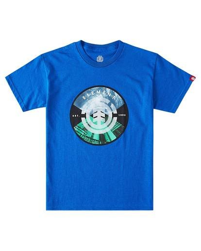 0 Boys' Aiken T-Shirt Blue B4501EAC Element