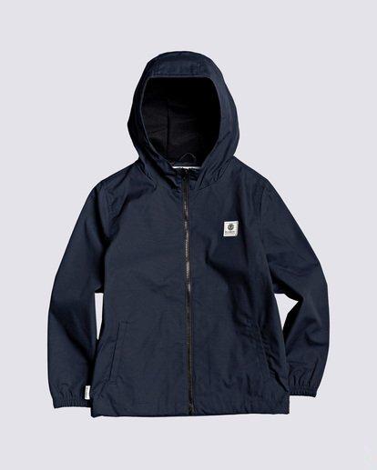 0 Boys' Alder Jacket Blue B7163EAL Element