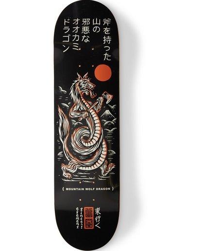 0 Timber Forest Wolf Dragon Skateboard Deck Multicolor BDLG1TDW Element