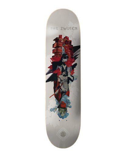 0 Cut Paste Zwijsen Skateboard Deck Multicolor BDPR3CPZ Element