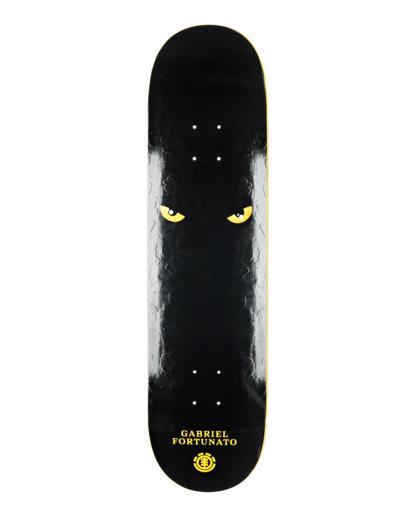 """1 8.25"""" Fortunato Mons - Deck de skateboard pour Unisexe Noir F2DCF3ELF1 Element"""