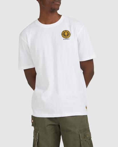 0 Rotation Short Sleeve Tee White G512002 Element