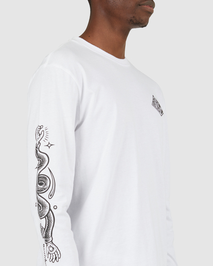 4 Acceptance Long Sleeve Tee White G512051 Element