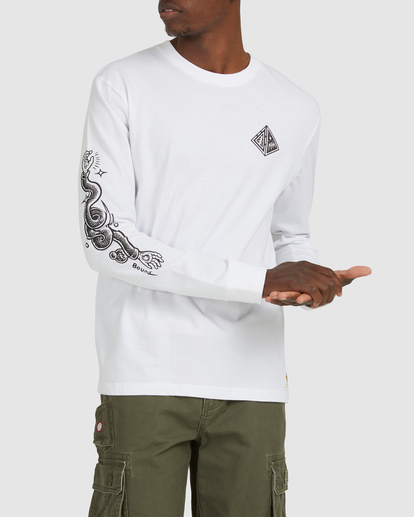 0 Acceptance Long Sleeve Tee White G512051 Element