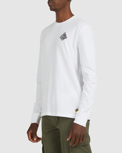 2 Acceptance Long Sleeve Tee White G512051 Element