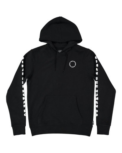 4 PlANET OF THE APES SURGE HOODIE Black G512304 Element