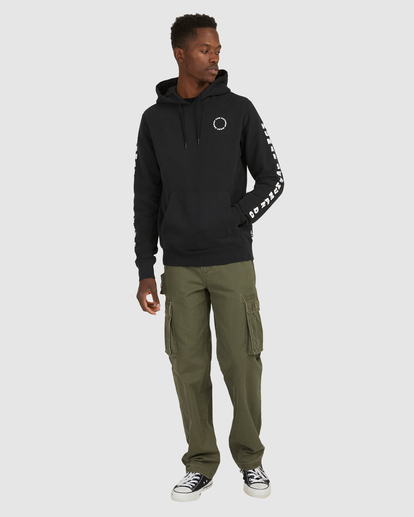 6 PlANET OF THE APES SURGE HOODIE Black G512304 Element