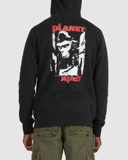 3 PlANET OF THE APES SURGE HOODIE Black G512304 Element