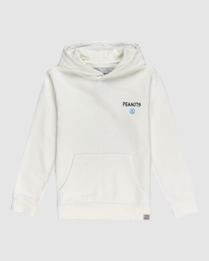 0 YOUTH PEANUTS GOOD TIMES HOODIE White G617322 Element