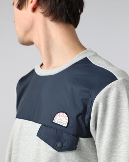 3 Altray Cr - Fashionfleece für Männer  H1FLB3ELP8 Element