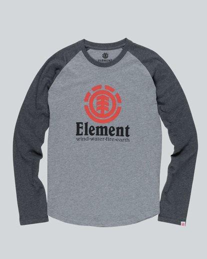 0 Vertical Raglan Qtr - T-Shirts für Männer  H1LSA3ELP8 Element