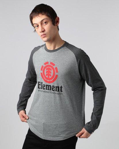 1 Vertical Raglan Qtr - T-Shirts für Männer  H1LSA3ELP8 Element