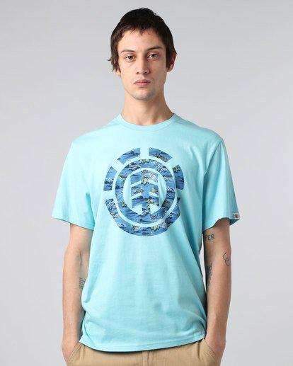 1 River Rat Ss - Tee Shirt for Men  H1SSB3ELP8 Element