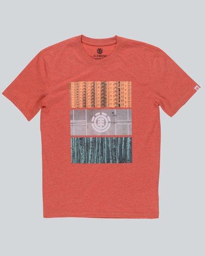 0 Parallel Ss - T-Shirt pour Homme  H1SSB8ELP8 Element