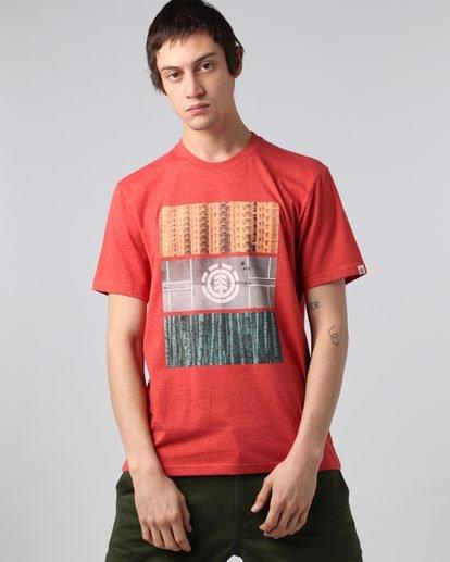 1 Parallel Ss - T-Shirt pour Homme  H1SSB8ELP8 Element