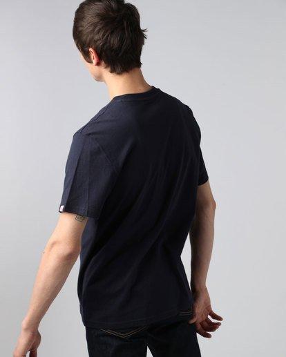 2 Askew Ss - T-Shirt pour Homme  H1SSC6ELP8 Element