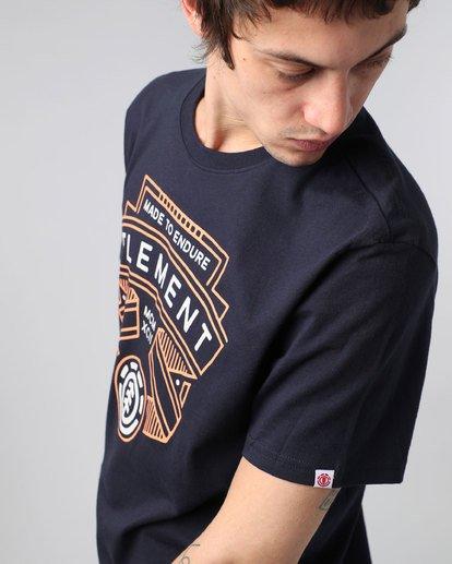 1 Askew Ss - T-Shirt pour Homme  H1SSC6ELP8 Element