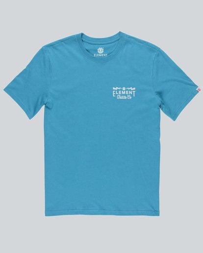 0 Zap Ss - T-Shirt pour Homme  H1SSC9ELP8 Element