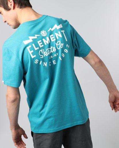 4 Zap Ss - T-Shirt pour Homme  H1SSC9ELP8 Element