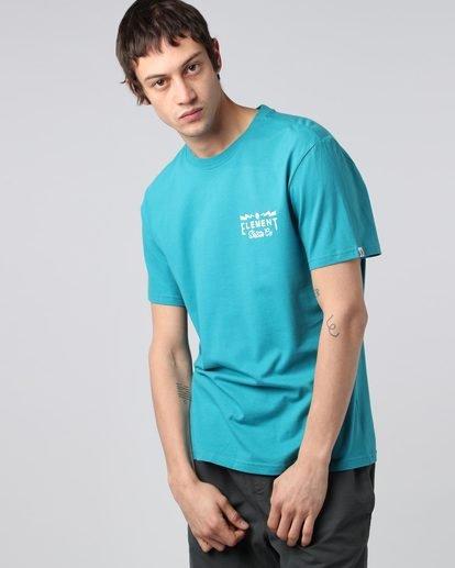 2 Zap Ss - T-Shirt pour Homme  H1SSC9ELP8 Element