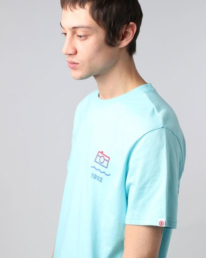 3 Lens Ss - Tee Shirt for Men  H1SSD7ELP8 Element