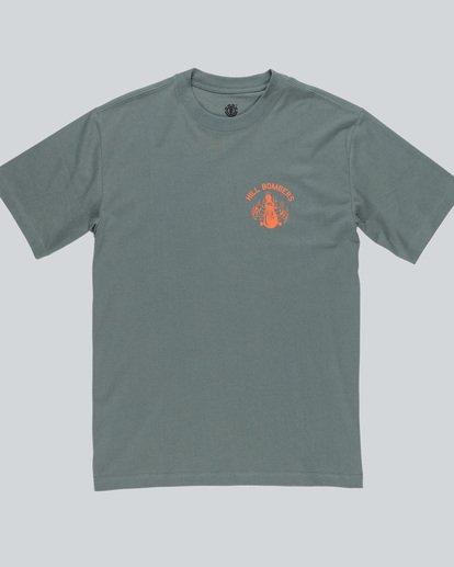 0 Wobble Ss - T-Shirt pour Homme  H1SSE6ELP8 Element