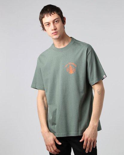 2 Wobble Ss - T-Shirt pour Homme  H1SSE6ELP8 Element